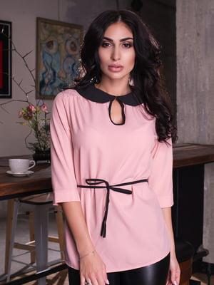 Блуза кольору пудри   4655624