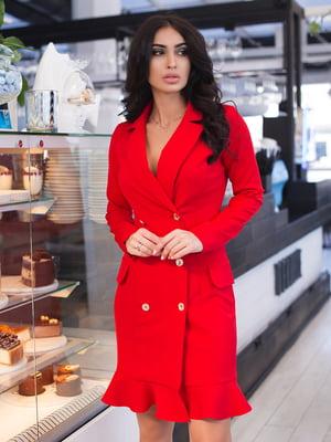 Платье красное | 4950193
