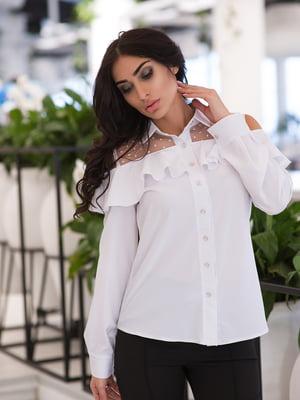 Рубашка белая | 4950236