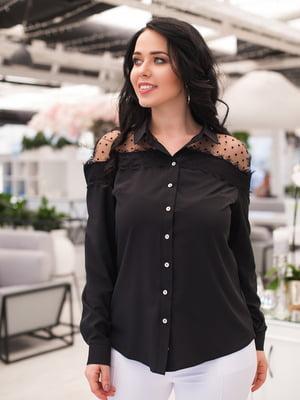 Рубашка черная | 4950303