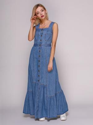 Сукня блакитна | 4896584