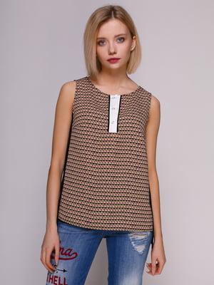 Блуза з принтом | 4896580