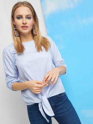 Блуза голубая | 4918653