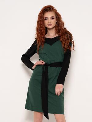 Платье двухцветное | 4950813