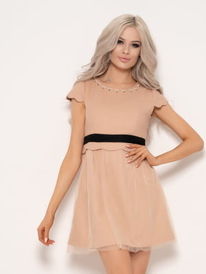Сукня бежева | 4950973