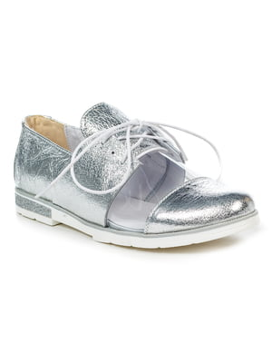 Туфли серебристые | 4934929