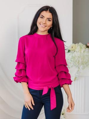 Блуза цвета фуксии | 4952075