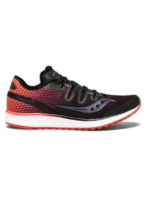 Кроссовки черно-красные FREEDOM ISO 10355-7s | 4921013