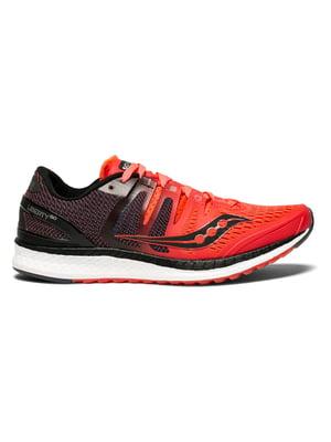 Кроссовки красные с логотипом LIBERTY ISO 10410-2s | 4921015