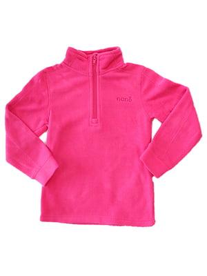 Термотолстовка флісова яскраво-рожева | 4952222