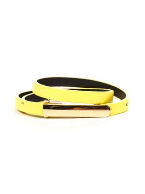 Ремень желтый | 4781465