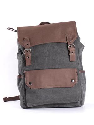 Рюкзак темно-сірий | 4951348