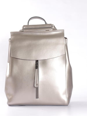 Сумка-рюкзак серебристая   4951358