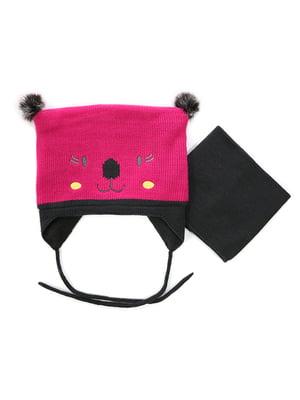 Комплект: шапка та манішка | 4952467