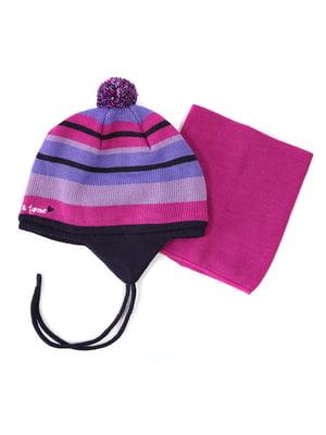 Комплект: шапка та манішка | 4952470