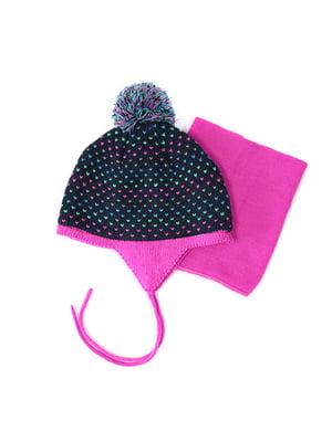 Комплект: шапка та манішка | 4952471