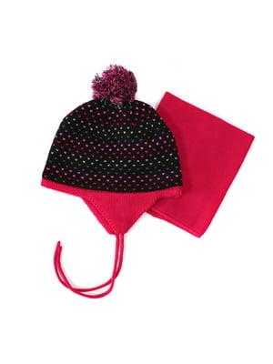 Комплект: шапка та манішка | 4952472