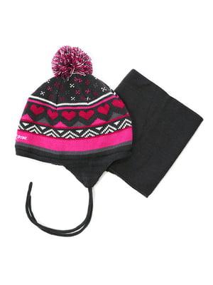 Комплект: шапка та манішка | 4952473