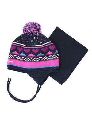 Комплект: шапка та манішка | 4952474