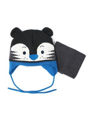 Комплект: шапка и манишка | 4952478