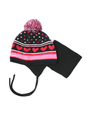 Комплект: шапка та манішка | 4952494