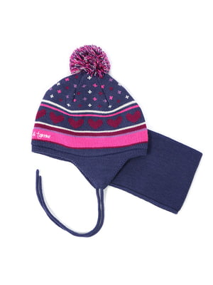 Комплект: шапка та манішка | 4952495
