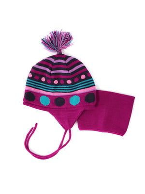 Комплект: шапка та манішка | 4952496
