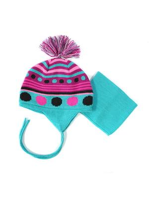Комплект: шапка та манішка | 4952497