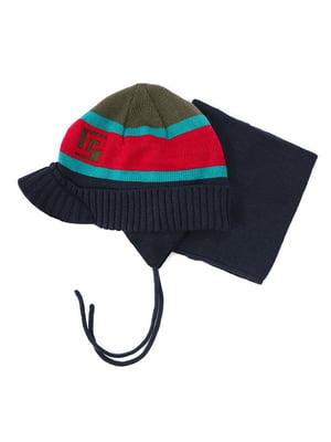 Комплект: шапка та манішка   4952499