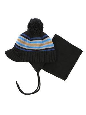 Комплект: шапка та манішка | 4952502