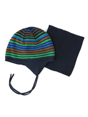 Комплект: шапка и манишка | 4952504