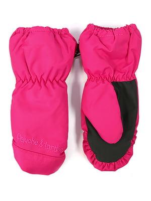 Рукавиці-краги яскраво-рожеві | 4952508