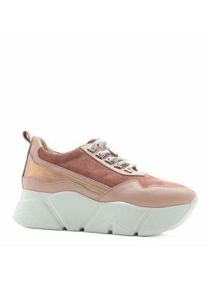 Кроссовки розовые | 4952323