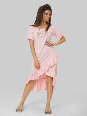 Платье розовое | 4956047