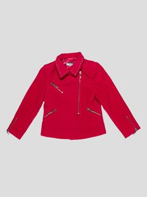 Куртка малинового кольору | 4781386