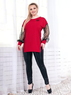 Блуза красная | 4951574