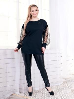 Блуза черная | 4951575