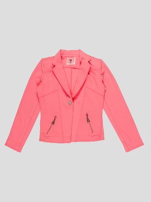 Жакет розовый | 4781156