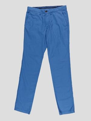 Брюки голубые | 4921940