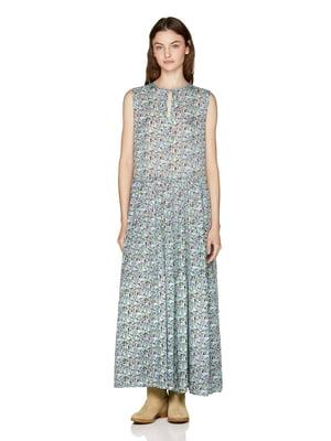 Платье в цветочный принт | 4914078