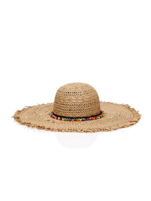 Шляпа бежевая | 4914164