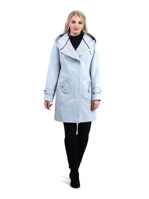 Пальто блакитне | 4131352