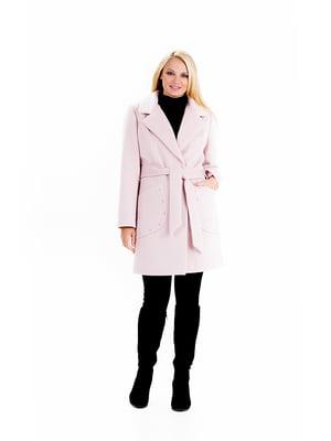 Пальто розовое | 4958485