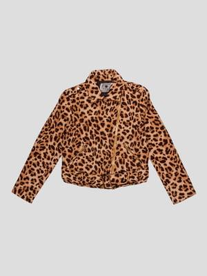 Куртка в леопардовий принт | 4781293