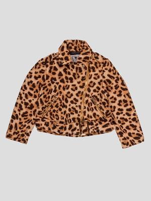 Куртка в леопардовий принт | 4781411