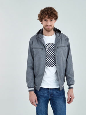 Куртка сіра   4879641