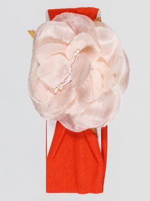 Пов'язка на голову помаранчева | 4918762