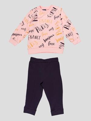 Костюм: свитшот и брюки | 4918717