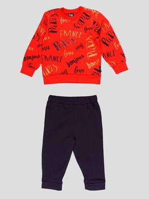 Костюм: свитшот и брюки | 4918712