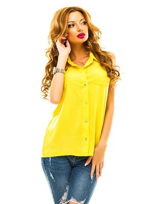 Рубашка желтая | 4655341